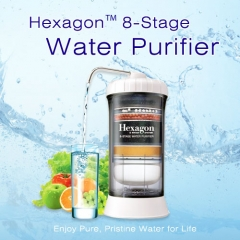 The Newest Hexagon™ 8 Stage Water Purifier on sale