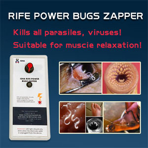 The Newest ISHA Rife Power Bugs Zapper on Sale