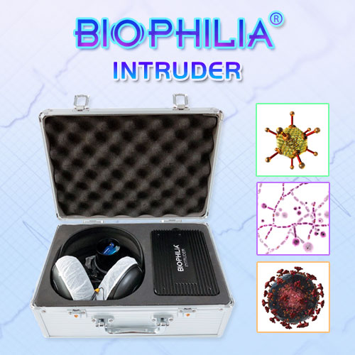 Biophilia Intruder Bioresonance Machine for Fast screening the Bacteria and Viruses